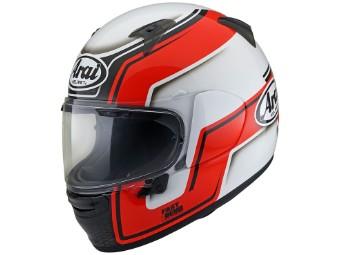 Profile-V Bend Red Helm