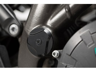 Rahmenkappen-Set KTM 1050/1090/1190 Adv, 1290 S Adv. schwarz