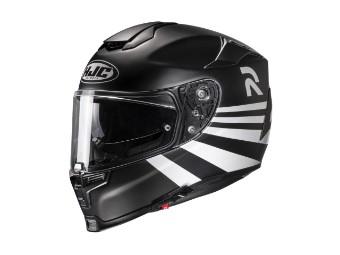 RPHA 70 Stipe MC-10SF schwarz/weiss Helm