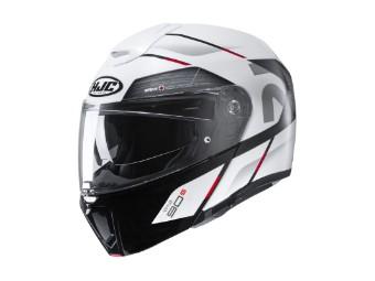 RPHA 90 S Bekavo MC-1 rot Klapp-Helm