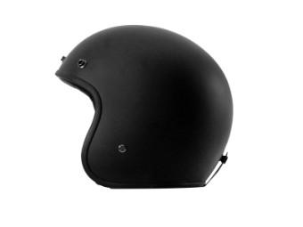 Fonzie Jet-Helm Matt-Schwarz