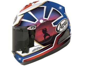 RX-7V Pedrosa Spirit Blue Helm