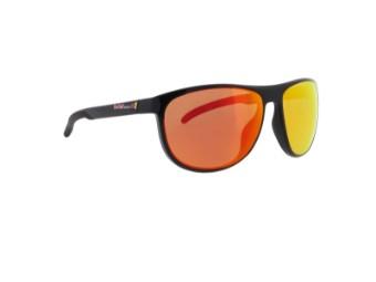 Slide Sun glasses Sonnenbrille schwarz rot-verspiegelt CAT3 polarisierend