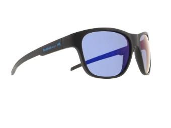 Sonic Sun glasses Sonnenbrille matt schwarz blau-verspiegelt CAT3 polarisierend