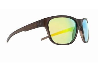 Sonic Sun glasses Sonnenbrille anthrazit orange verspiegelt CAT3 polarisierend