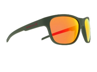 Sonic Sun glasses Sonnenbrille olive grün rot-verspiegelt CAT3 polarisierend