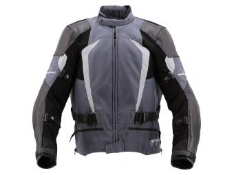 Sport Evo Sommer Jacke grau/schwarz