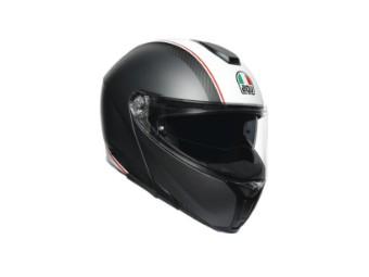 Sport Modular Cover Klapp-Helm Gunmetal/White