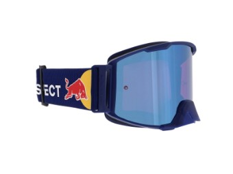 RedBull Spect Strive MX Goggle Brille blue flash, purple mirror