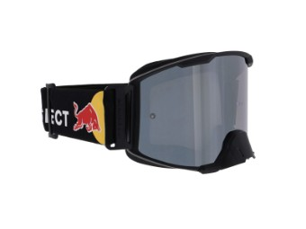 RedBull Spect Strive MX Goggle Brille black flash, smoke with silver flash