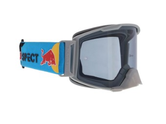 RedBull Spect Strive MX Goggle Brille light grey flash: light grey