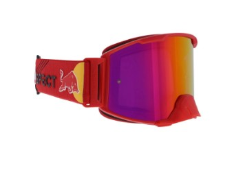 RedBull Spect Strive MX Goggle Brille purple red flash, purple with red mirror