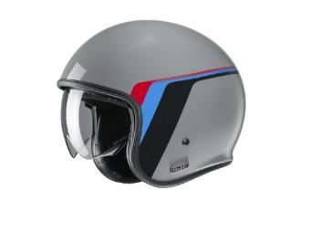 V30 Osor MC-5 Jet-Helm grau