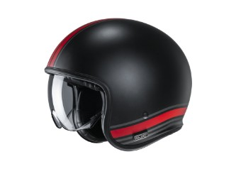V30 Senti MC1SF Jet-Helm rot