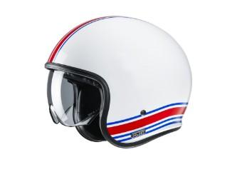V30 Senti MC21 Jet-Helm weiß