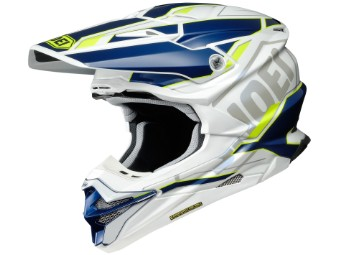VFX-WR Allegiant TC-3 blau/gelb MX Enduro Helm