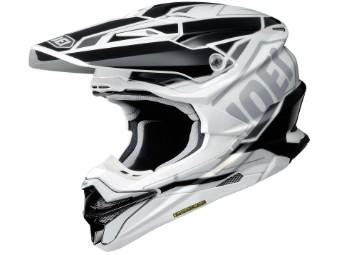 VFX-WR Allegiant TC-6 weiss/schwarz MX Enduro Helm