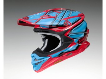 VFX-WR Glaive TC-1 rot/blau MX Enduro Helm