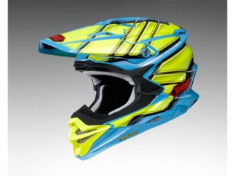 VFX-WR Glaive TC-2 blau/gelb MX Enduro Helm