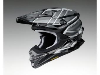 VFX-WR Glaive TC-5 schwarz MX Enduro Helm