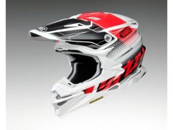 VFX-WR Zinger TC-1 rot MX Enduro Helm