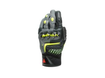 VR46 Sector Short Handschuh Schwarz/Neon-Gelb