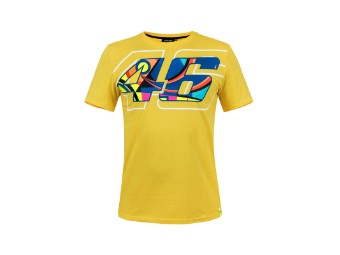 Helmet T-Shirt Valentino Rossi gelb