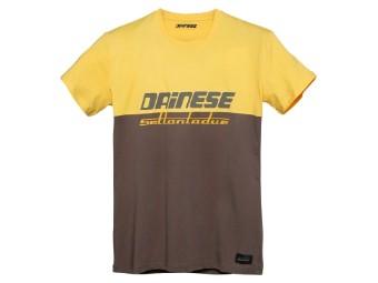 Dunes T-Shirt Morel/old-Gold