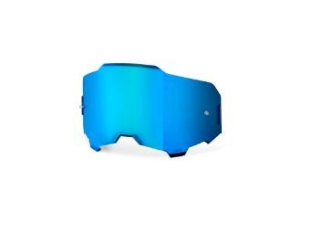 Linse Armega blau-verspiegelt Brillen Ersatzglas