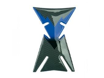 """Tankpad Carbon """"Space"""" / blau"""