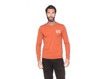 Faster Sons Langarm-T-Shirt Kanji  Yamaha Orange