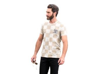 Faster Sons T-Shirt mit Schriftzug Yamaha