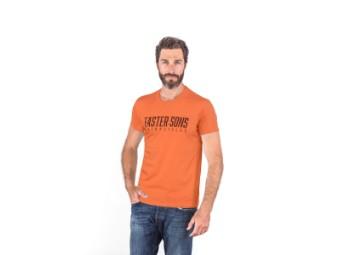 Faster Sons T-Shirt Yamaha orange