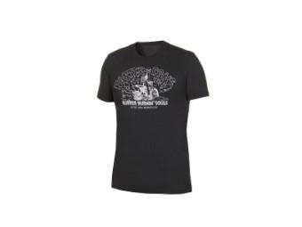 Faster Sons T-Shirt Parbat Yamaha schwarz