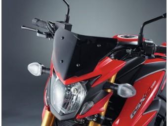 Windschild Flyscreen schwarz getönt Suzuki GSX-S750 2017-