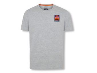 RedBull KTM Patch Tee grey