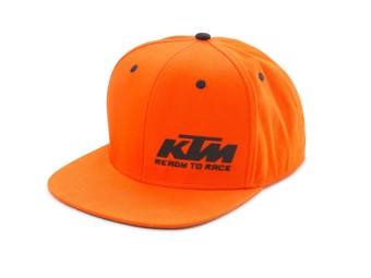 Team Snapback Cap orange