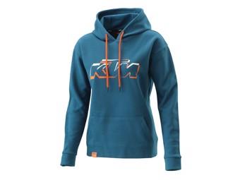 Kaputzen Pullover: Women Logo Hoodie