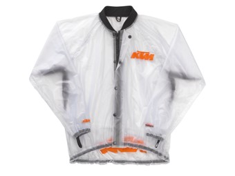 Motocross & Enduro Schlammjacke: Rain Jacket transparent