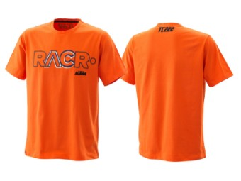 T-Shirt | Tony Cairoli | RACR tee orange