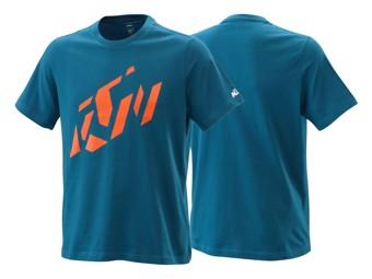 T-Shirt: Radical Sliced tee blue