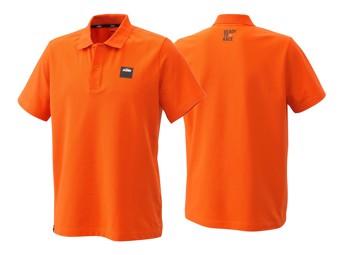 Polo Shirt: Pure Racing Polo orange