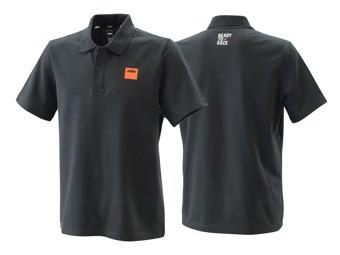 Polo Shirt: Pure Racing Polo black