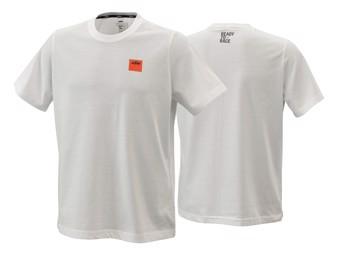 T-Shirt |  Racing | Pure tee white