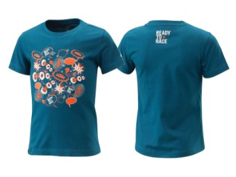 T-Shirt | Radical | Kids tee blue