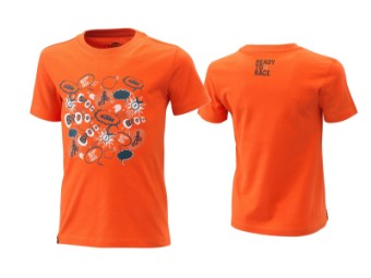 T-Shirt | Radical | Kids tee orange