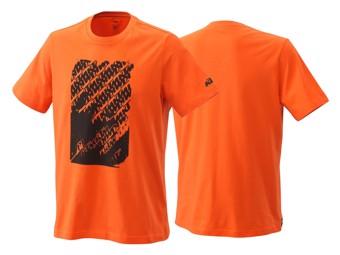 T-Shirt: Radical Logo tee orange