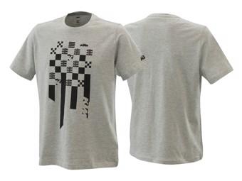 T-Shirt: Radical Square tee grey Melange