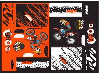 Team Graphic Sticker Sheet