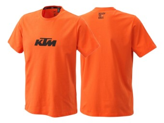 T-Shirt: Pure Logo tee orange